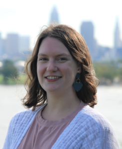 jHUB Communications and Project Manager Julia Fair grew up in a Jewish interfaith household.